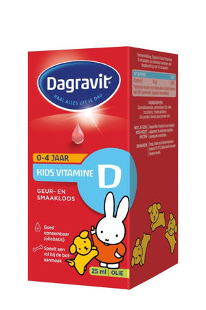 Kids Vitamine D druppels - 25 ml