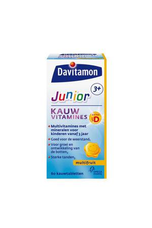 Jr 3+ kauwvitamines - multifruit