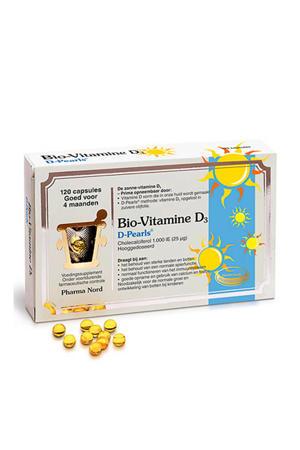 Bio-Vitamine D3 -  D Pearls (1000 IE) - 120 capsules - vitaminen