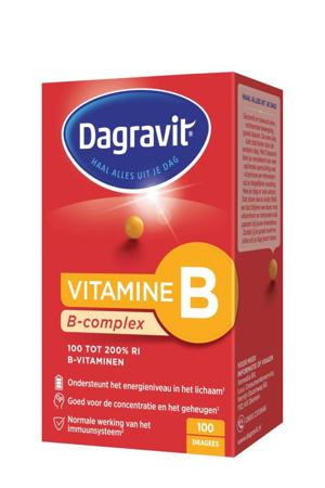 Vitamine B- complex - 100 stuks