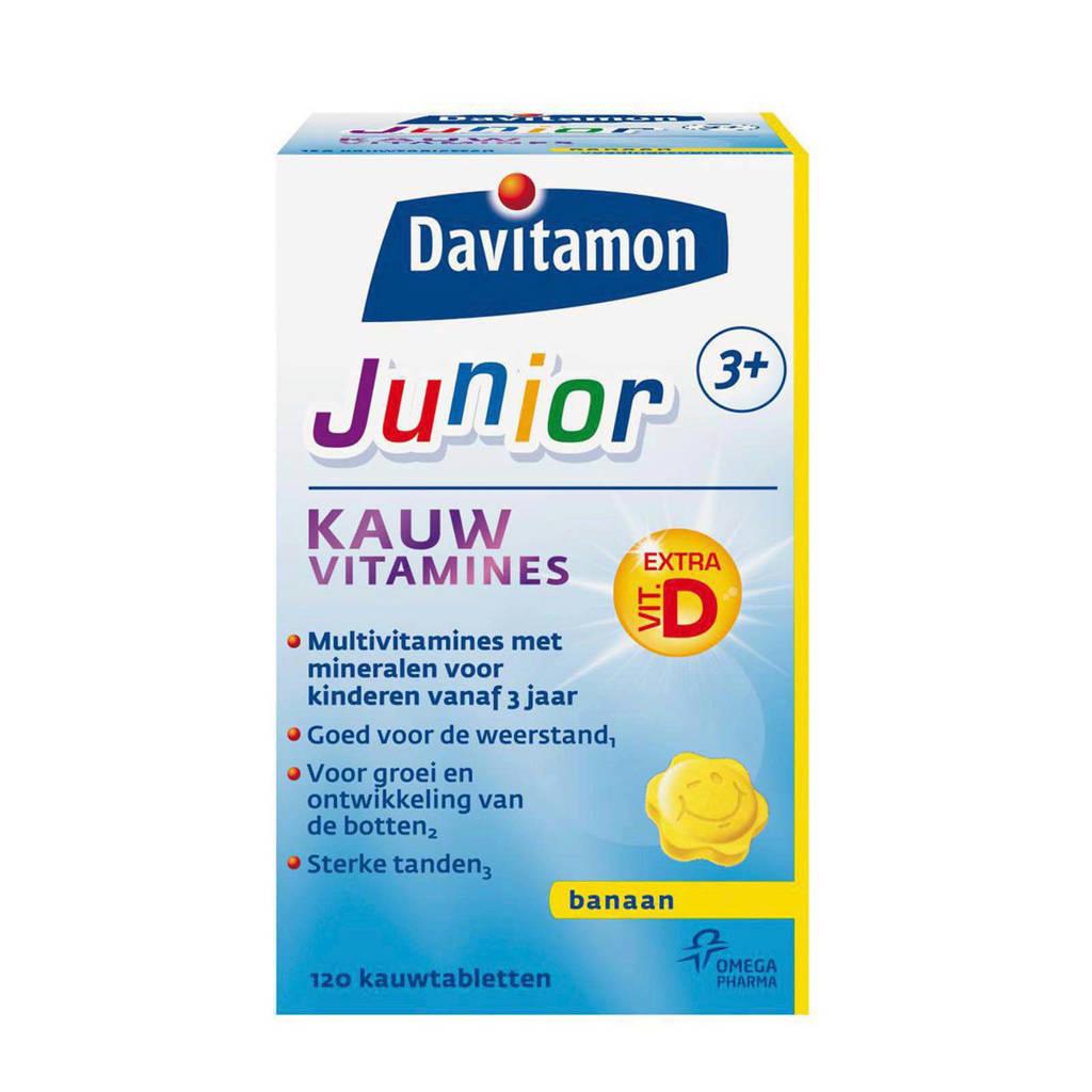 Davitamon Junior kauwvitamines - banaan
