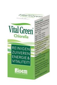 Bloem Vital Green Chlorella vitaminen - 200 stuks