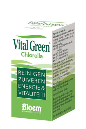 Vital Green Chlorella vitaminen - 200 stuks