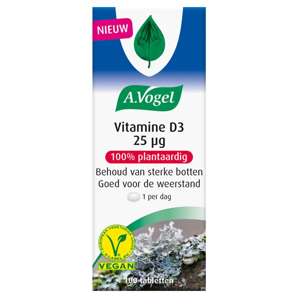A.Vogel Vitamine D3 25 microgram - 100 stuks