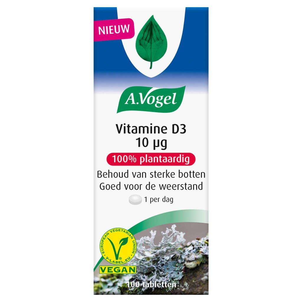 A.Vogel Vitamine D3 10 microgram - 100 stuks