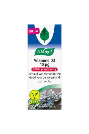 Vitamine D3 10 microgram - 100 stuks