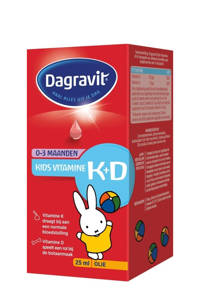 Dagravit Kids Vitamine K+D druppels - 25 ml