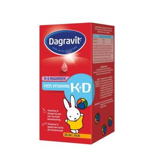 Kids Vitamine K+D druppels - 25 ml
