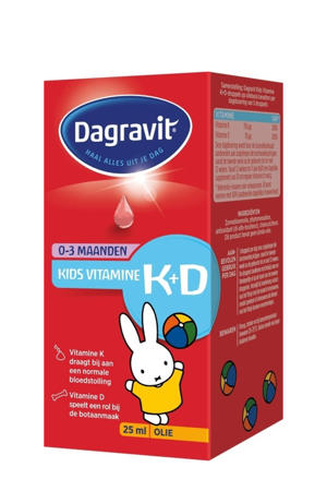 Kids Vitamine K+D druppels - 25 ml