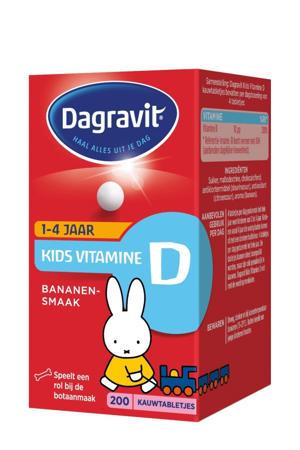 Kids Vitamine D - 200 stuks
