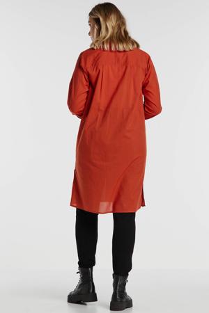 gestreepte tuniek rood