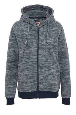 fleece sportvest grijs