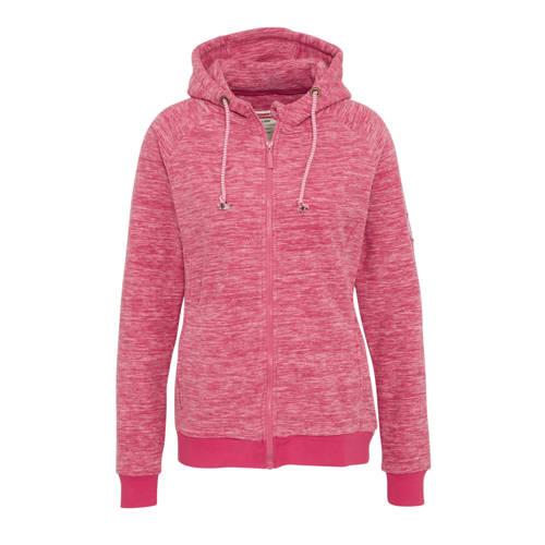 Donnay fleece sportvest roze