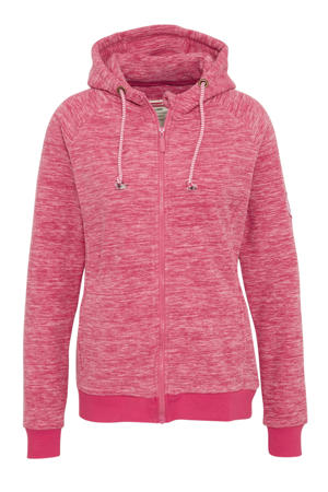 fleece sportvest roze