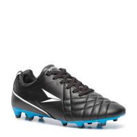 Scapino Dutchy   FxG voetbalschoenen zwart/blauw, Zwart/blauw/wit