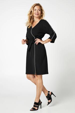 jurk met striksluiting