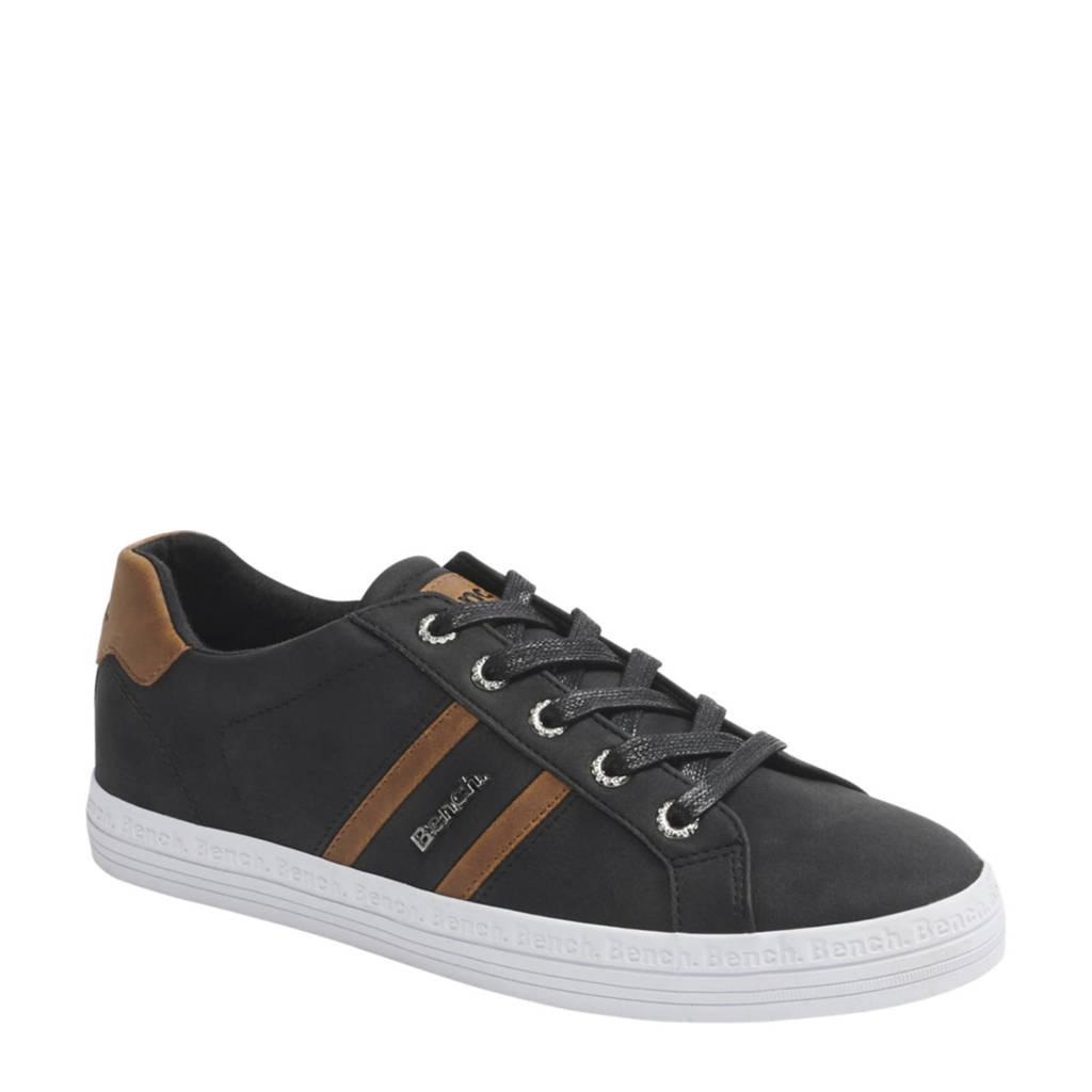 Bench   sneakers antraciet/cognac