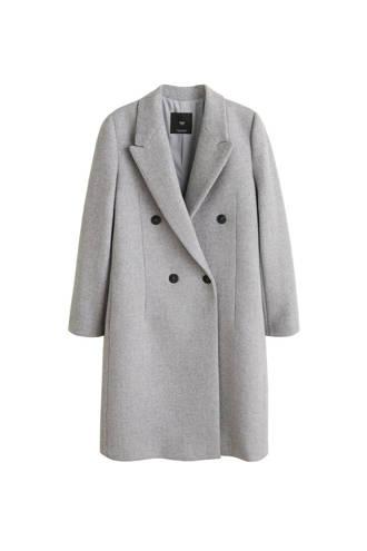 coat met wol