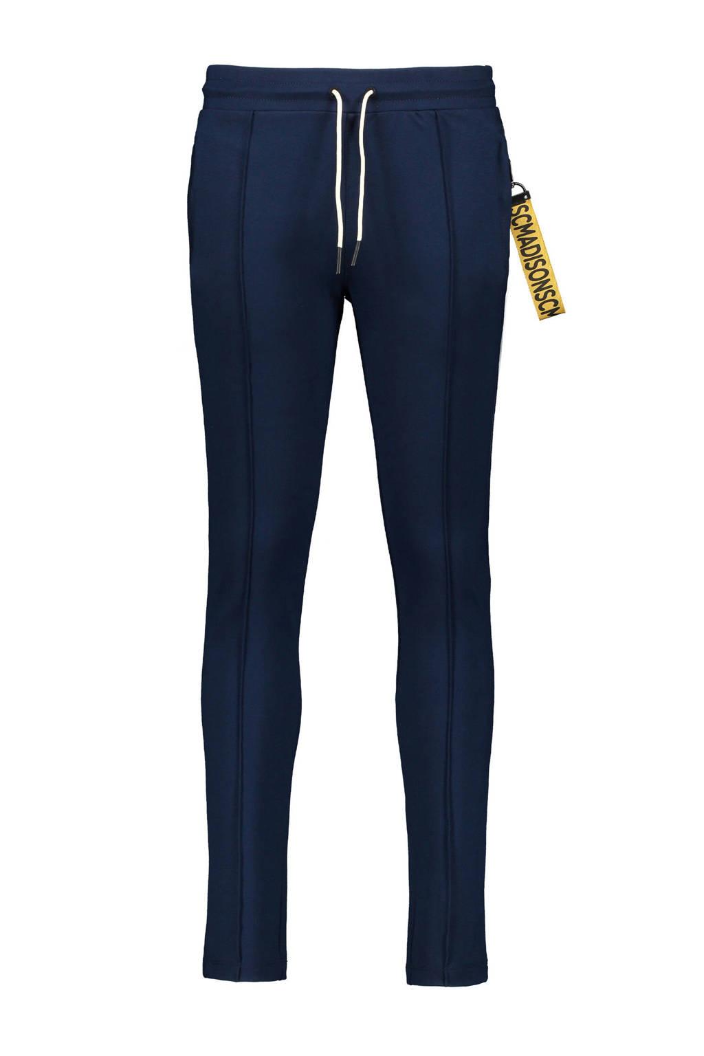 Street called Madison slim fit broek Relax donkerblauw, Donkerblauw