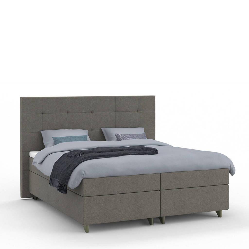 Karlsson Beter Bed complete boxspring Unik Varje (160x210 cm), Bruin