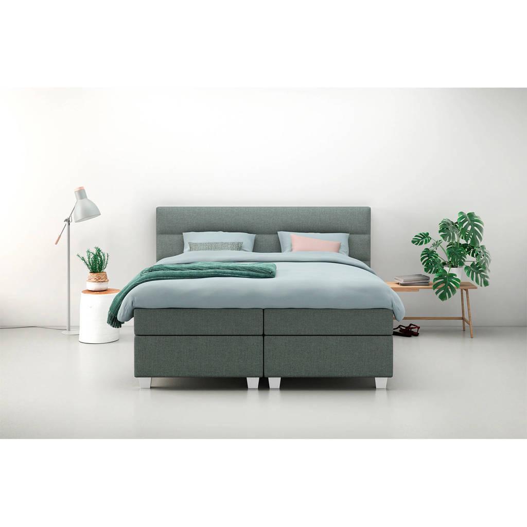 Karlsson Beter Bed complete boxspring Autentik Lina (180x200 cm), Groen