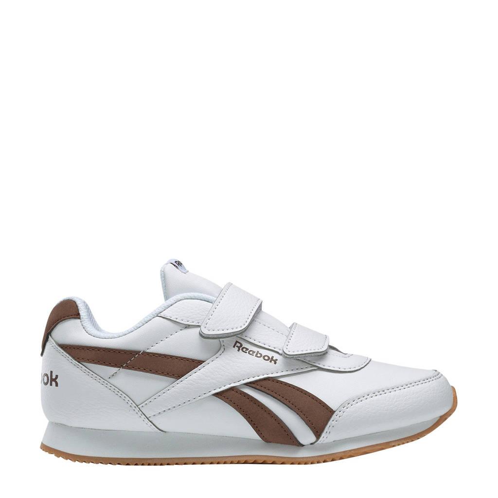Reebok  Royal CLJog  sneakers wit/bruin, Wit/bruin