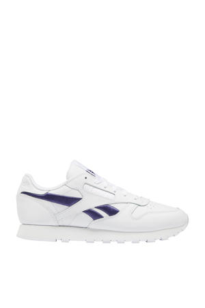 Classic sneakers wit/paars