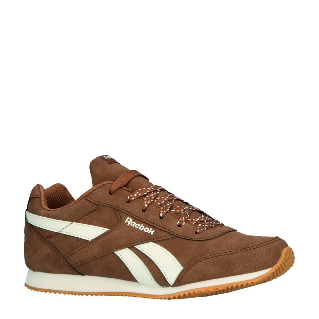 Reebok Classics  Royal CLJog  sneakers bruin/wit, Bruin/wit