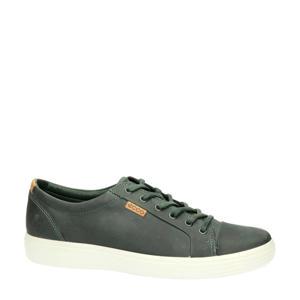 Soft 7  leren sneakers grijs