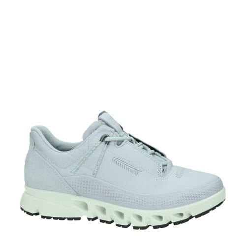 Ecco Multi-Vent leren sneakers lichtblauw