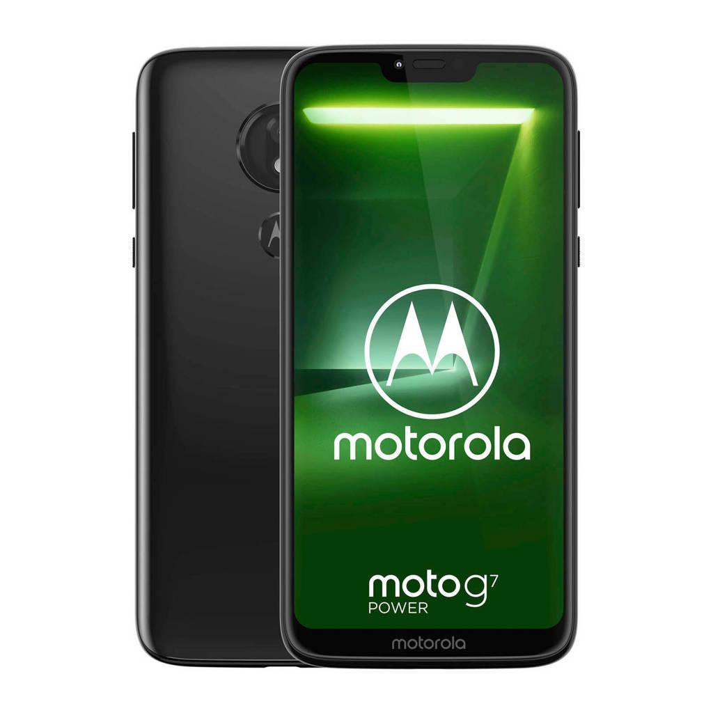 Motorola   Moto G7 Power zwart, Zwart