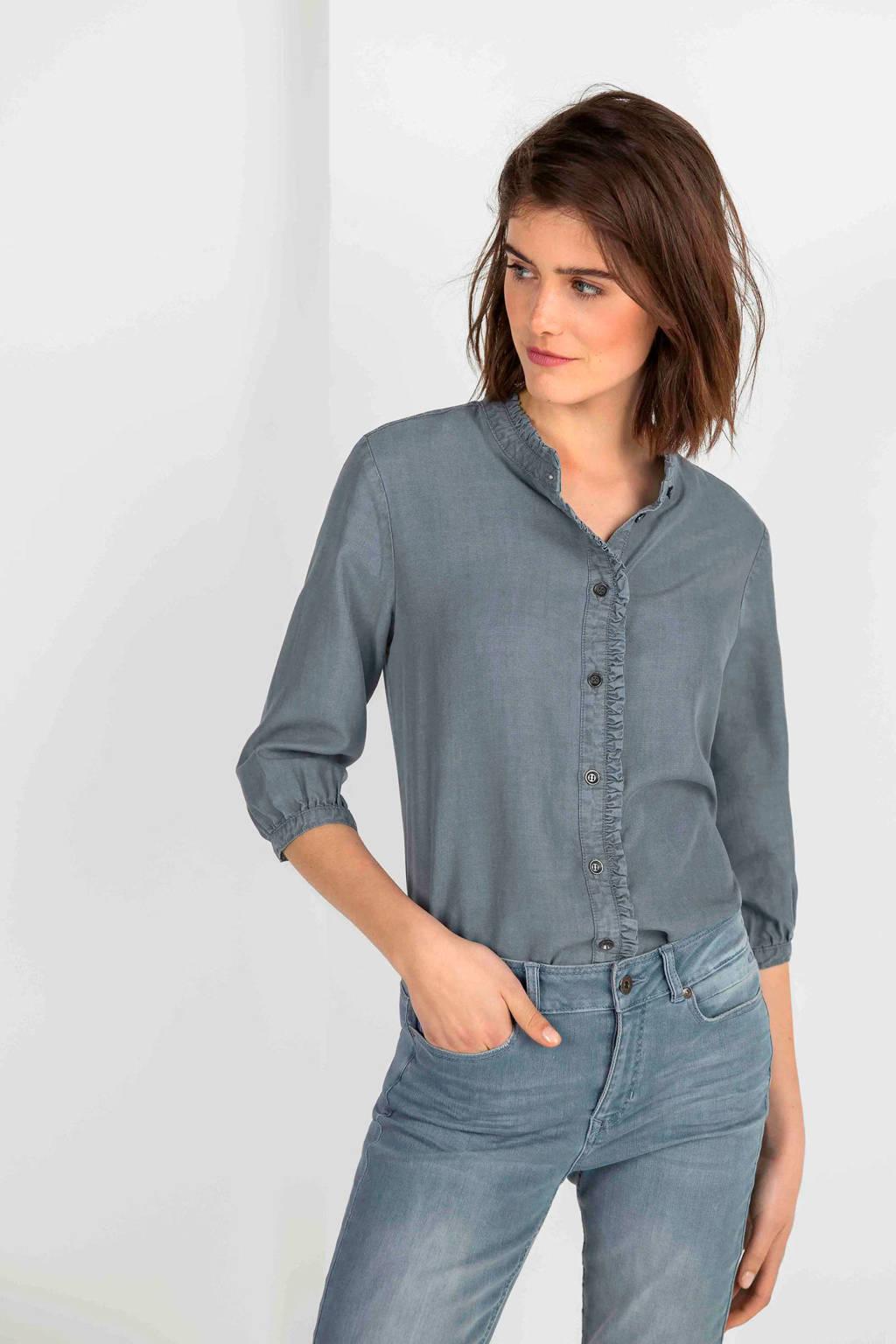 Expresso blouse grijs, Grijs