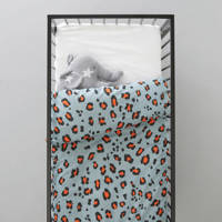 whkmp's own ledikant dekbedovertrek (100x135 cm), Lichtblauw, Baby (100 cm breed)