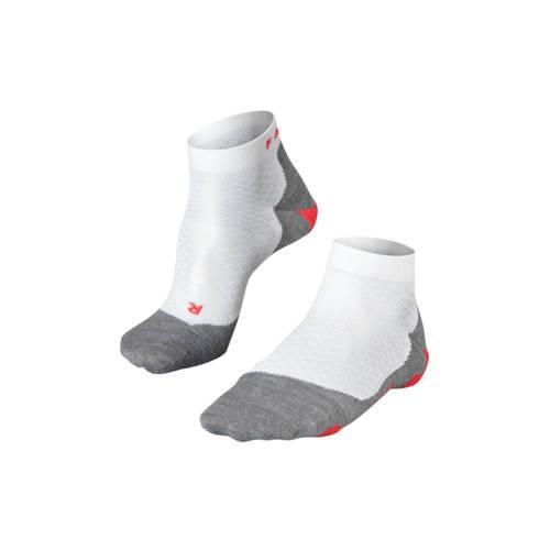 Falke RU5 Lightweight Short Dames Hardlopen sokken (wit-grijs) 37-38