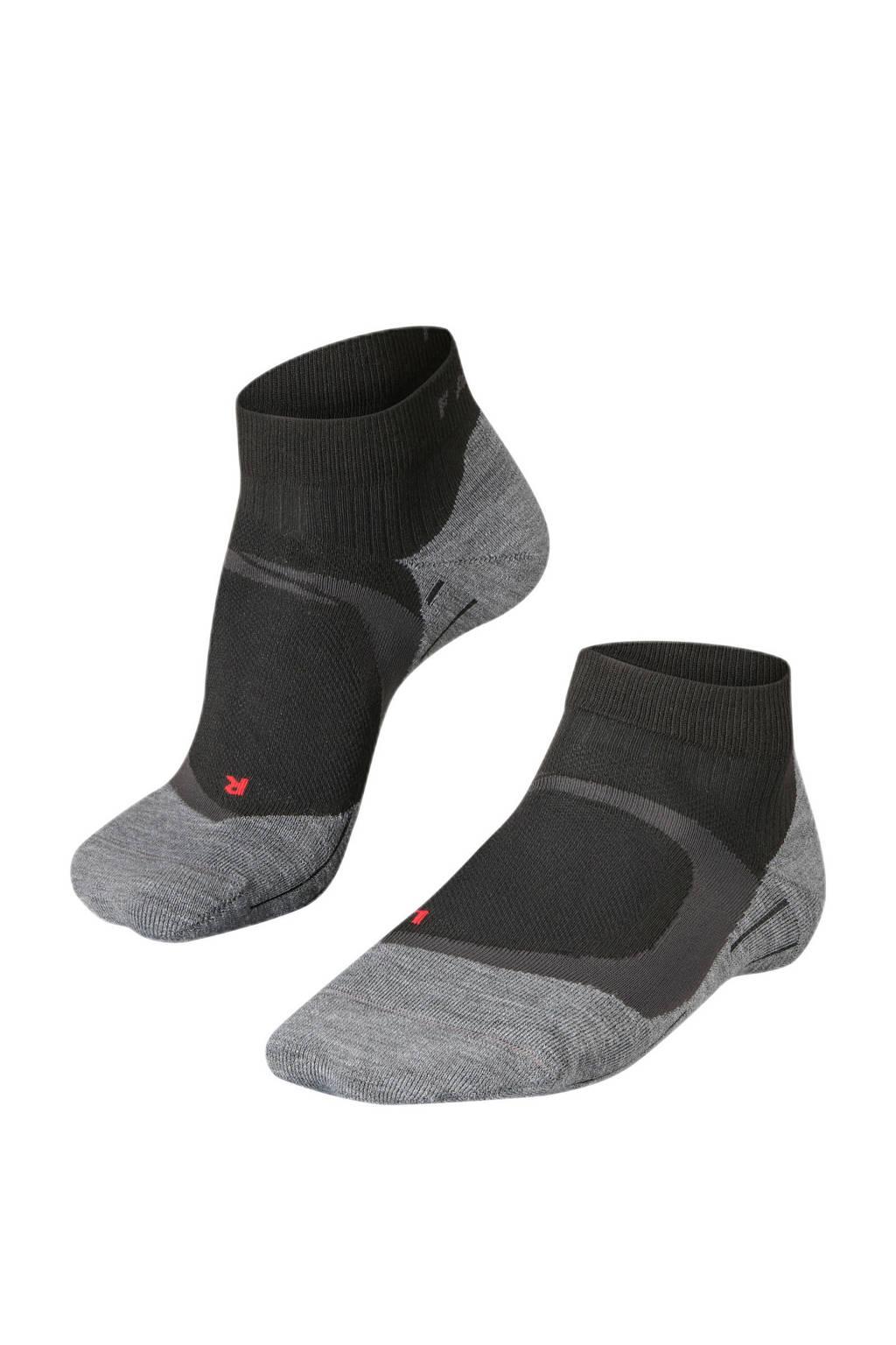 Falke Sport RU4 Cool Short hardloopsokken zwart, Zwart/grijs/rood