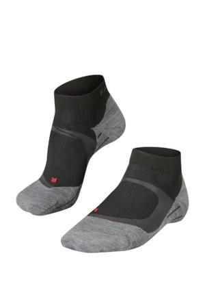 RU4 Cool Short hardloopsokken zwart
