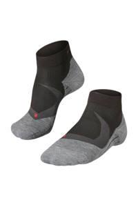 FALKE RU4 Cool Short sportsokken zwart, Zwart/grijs