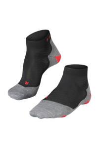 Falke Sport RU5 Short hardloopsokken zwart, Zwart/grijs/rood