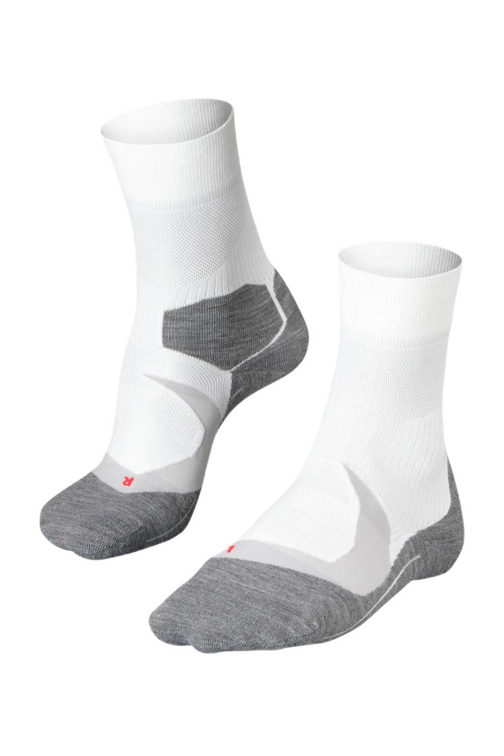 FALKE RU4 Cool runningsokken wit, Wit.grijs