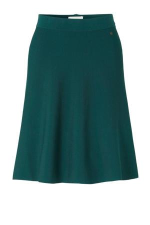 A-lijn rok groen