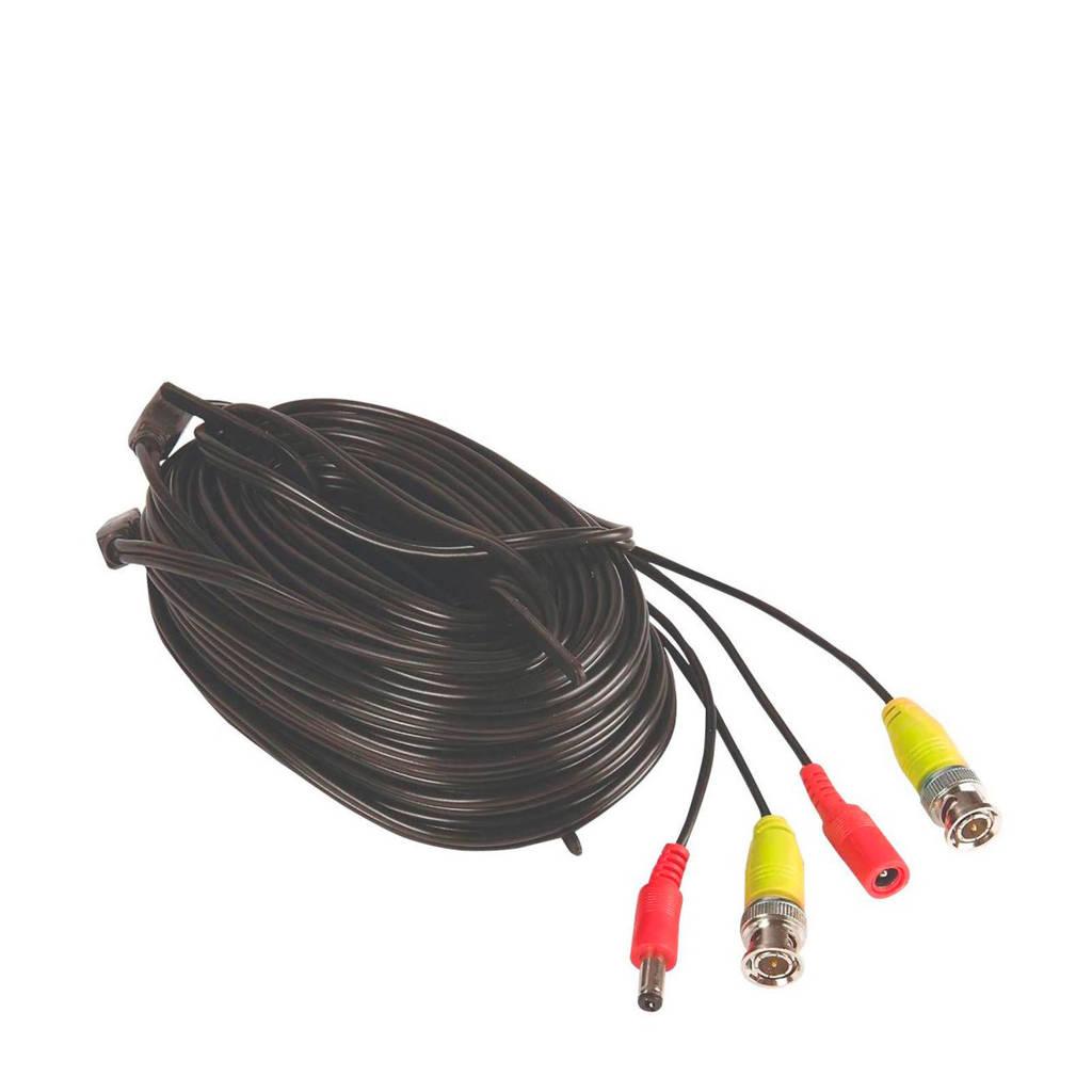 Yale SV-BNC18 cctv kabel, Zwart