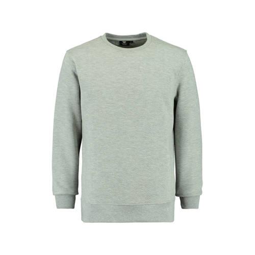 America Today gemêleerde sweater grijs kopen
