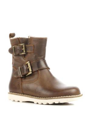 P2124 leren laarzen bruin