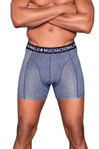 Muchachomalo boxershort (set van 3), Blauw/donkerblauw
