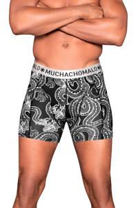 Muchachomalo boxershort (set van 2), Zwart