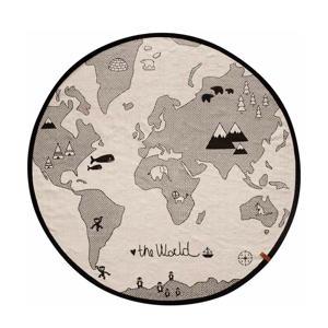 vloerkleed World  (∅135 cm)