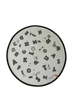 vloerkleed The Alphabet  (120x120)