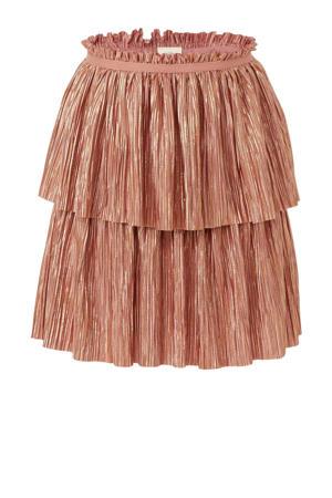 rok oud roze/ goud