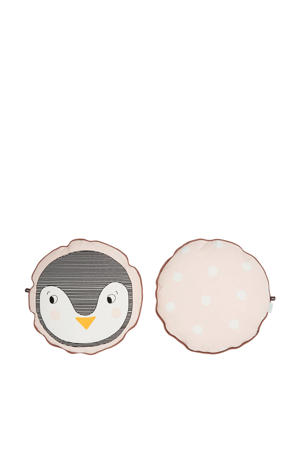sierkussen Penguin  (38x38 cm)