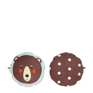 sierkussen Bear (Ø38 cm)